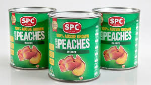 spc-ardmona tinned peaches