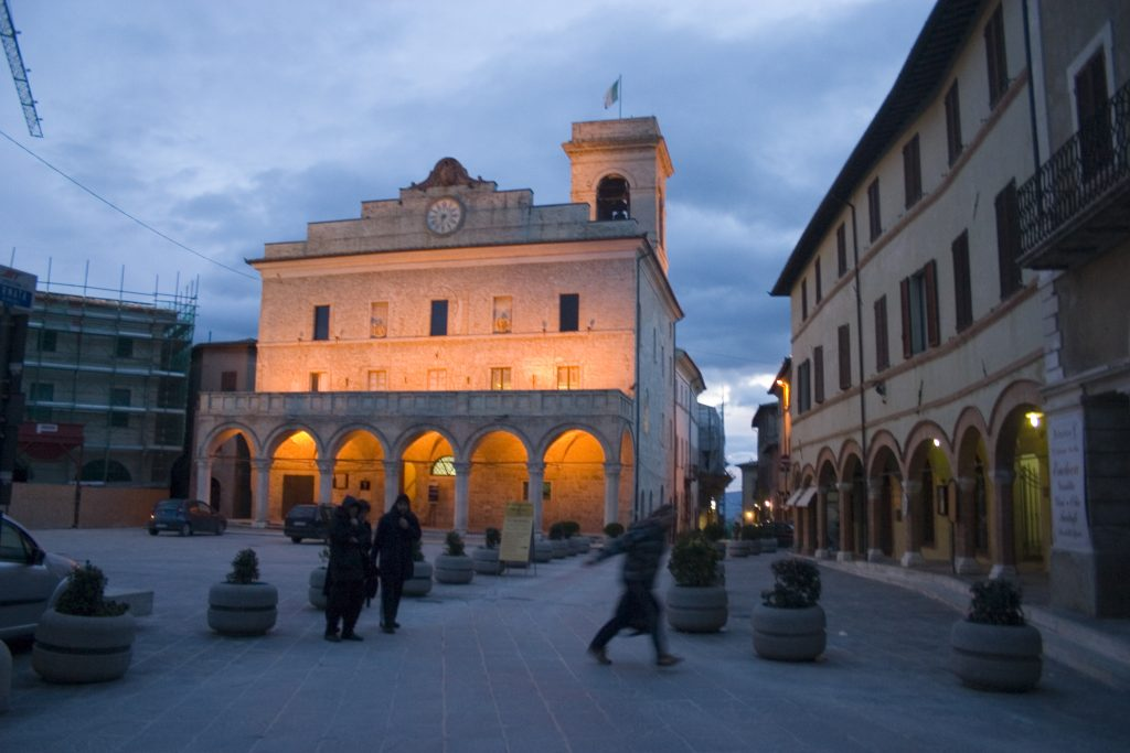 After Paris, Montefalco in Umbria