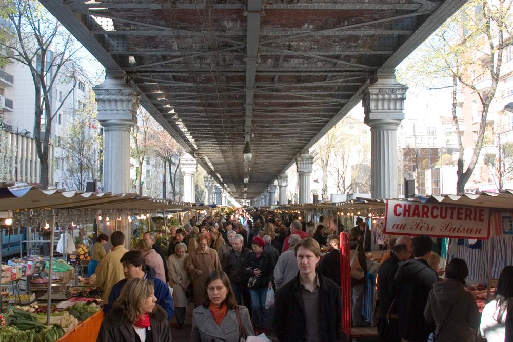 Boulevard de Grenelle market, Paris