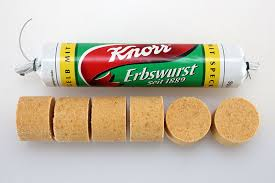 Knorr Erbswurst - German pea soup sausage
