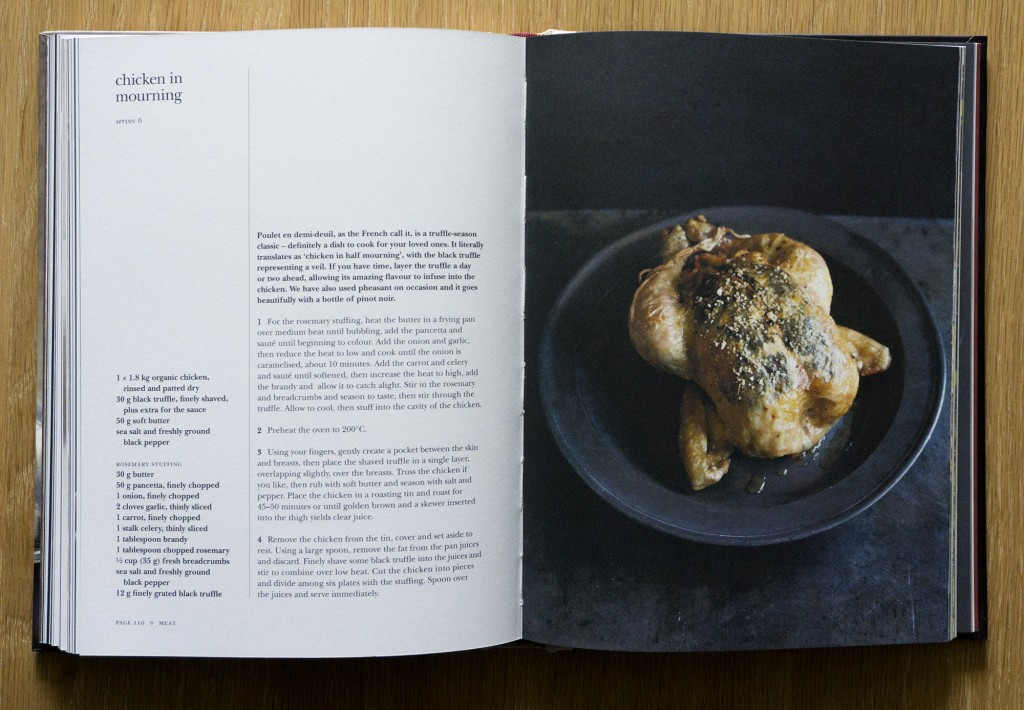 Truffle Cookbook Chicken in Mourning