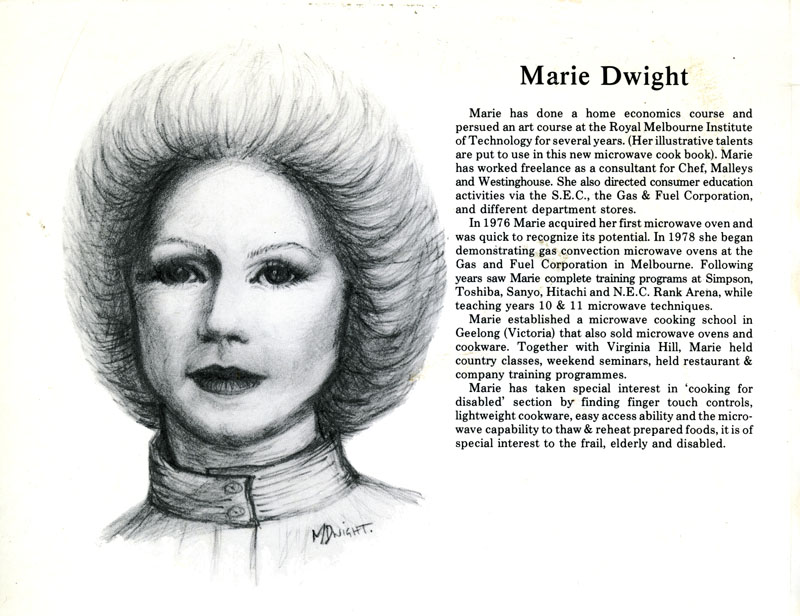 Marie Dwight lovely self portrait