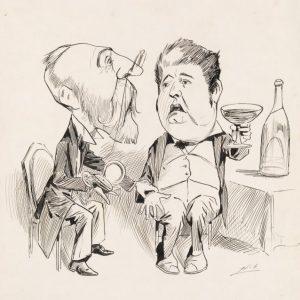 Edmond Barton and Alfred Deakin