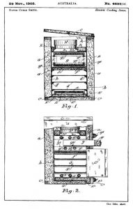 Curle Smith electric stove