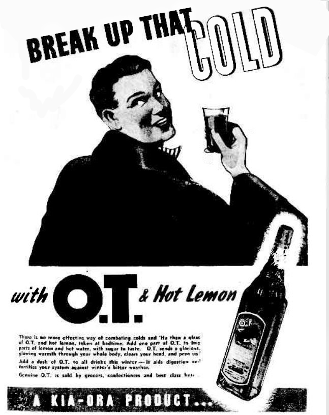 O.T. full page ad, Argus weekend supplement 1946