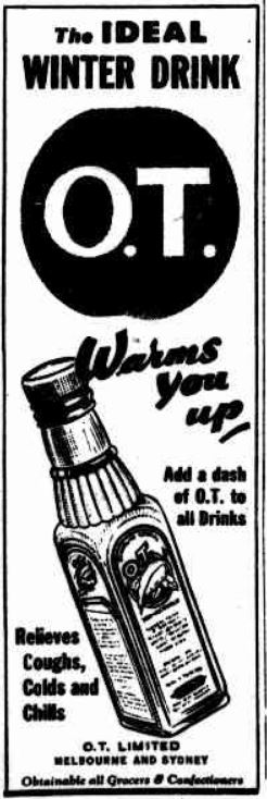 O.T. advertisement 1943