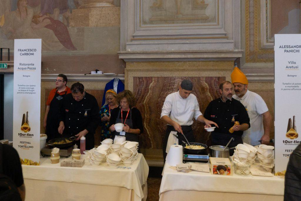 Bologna - festival del tortellino
