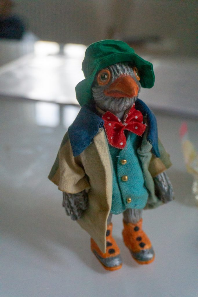 Terracotta figurine from the original Pinocchio shop in Venice