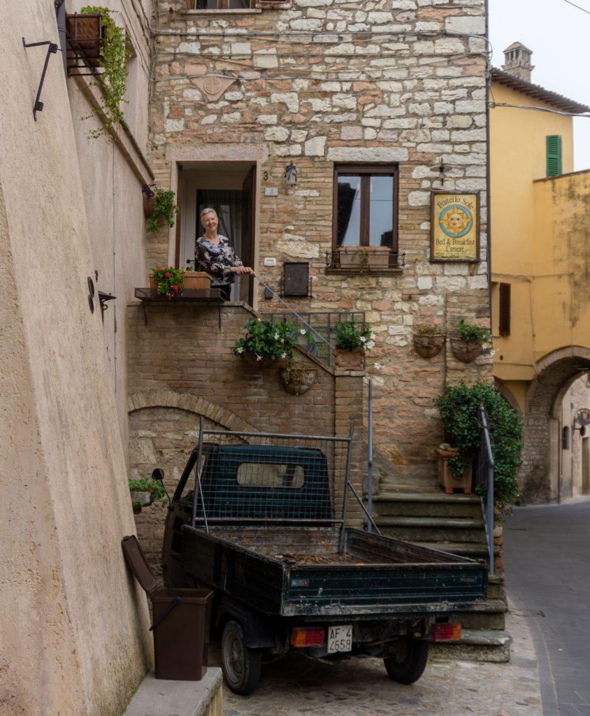Our apartment in Spello