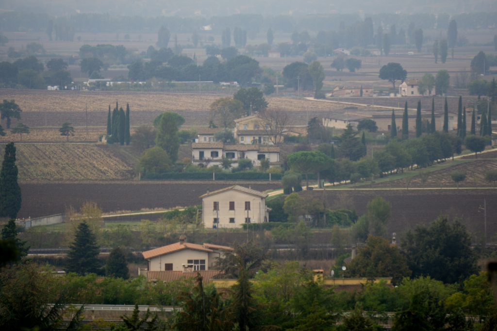 View from the top - Spello