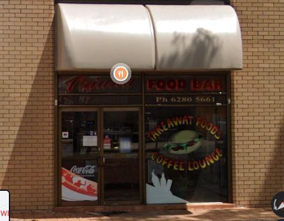 Oriana Food Bar, Geelong Street, Fyshwick